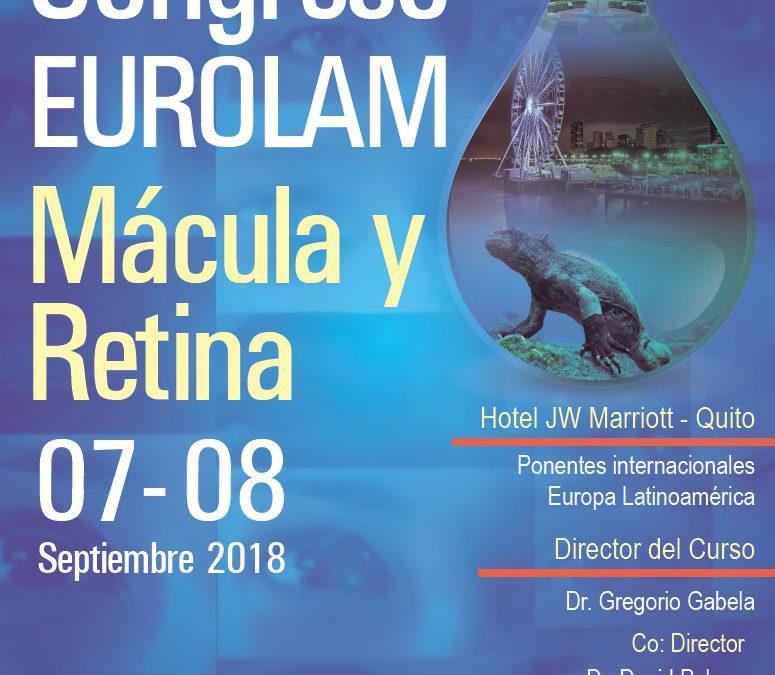 Quito Congress Eurolam Mácula y Retina 2017/18